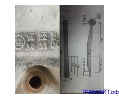 Нужна рессора п/п крона оси BPW 14 22 2 AG1104.