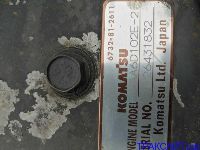 Нужна турбина на SAA6D102E-2 Komatsu.