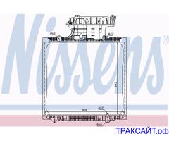 Продам радиатор охлаждения двигателя MAN TG-A 18.410